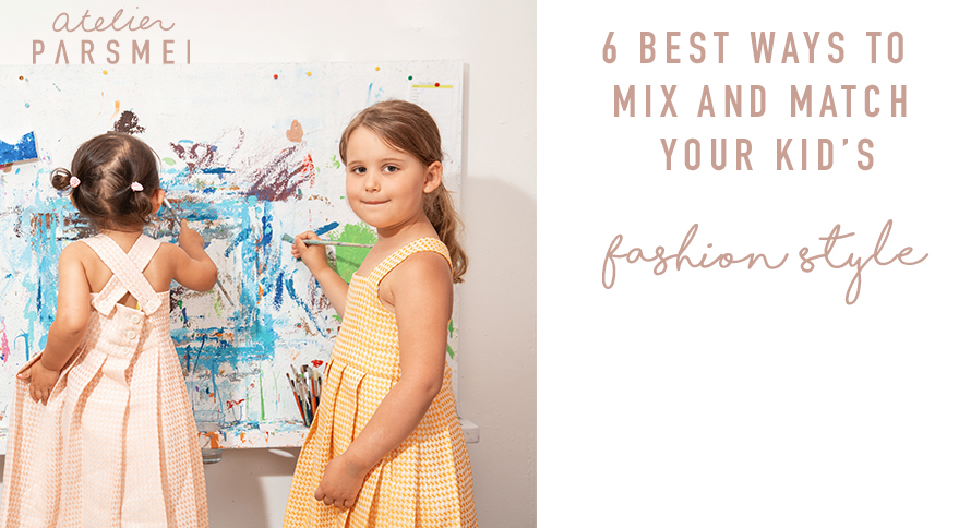 Mix and Match Your Kid's Fashion Style