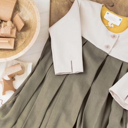 Brigitta Dress Buttercream