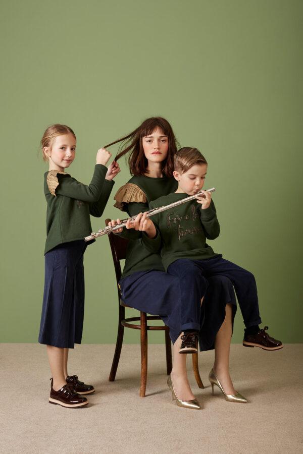 gretl trousers oxford blue